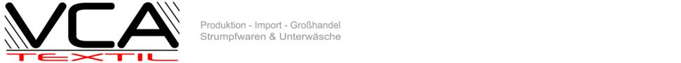 76ac084f5a7845 VCA-Textil Großhandel & Produktion für Strumpfwaren - Unterwäsche