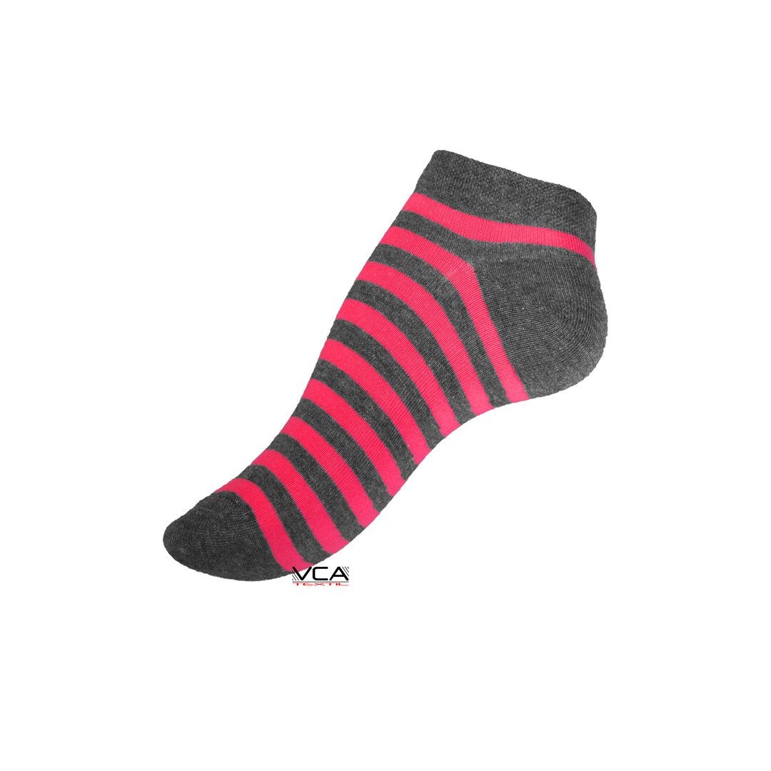 damen sneaker socken stripes mit neon ringel 4er pack. Black Bedroom Furniture Sets. Home Design Ideas