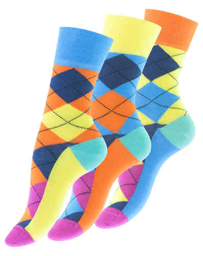 "Vincent Creation® Damen Casual-Socken ""DIAMOND"""