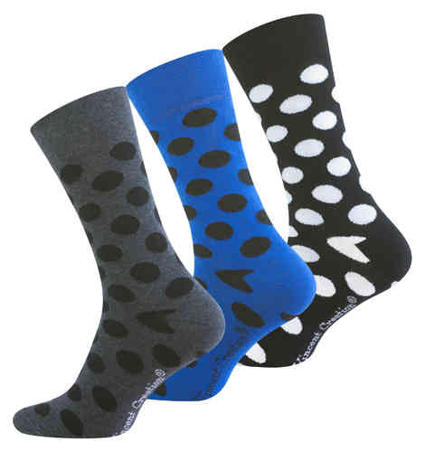 "Vincent Creation® Herren Casual-Socken ""DOTS"""