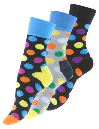 "Vincent Creation® Damen Casual-Socken ""DOTS"""