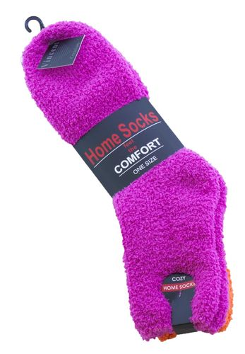 "Vincent Creation® Kuschelsocken ""Home Socks"" unifarben"