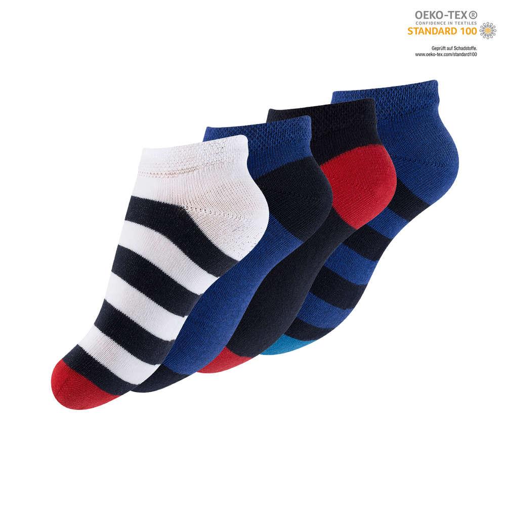Sneaker Socken 4er Pack 23-26 27-30
