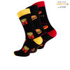 "Vincent Creation® Unisex Casual Socken ""Fast Food"""
