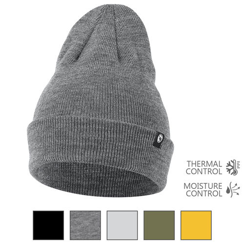 Stark Soul® unisex knitted hat with fleece inside - color selectable
