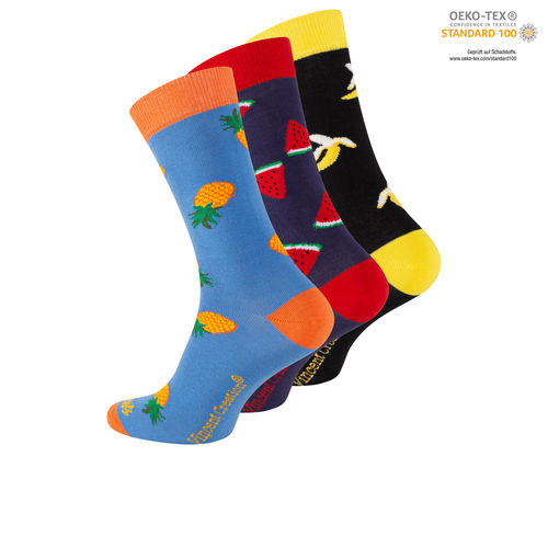 "Vincent Creation® Unisex Casual Socken ""Fruits"""